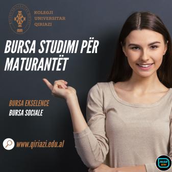 Copy of Bursa studimi për maturantët