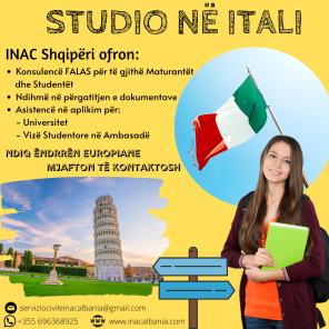 Studio në Itali